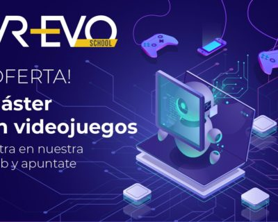 Máster Streaming VR y Videojuegos (320 horas SIN PRE-REQUISITOS)